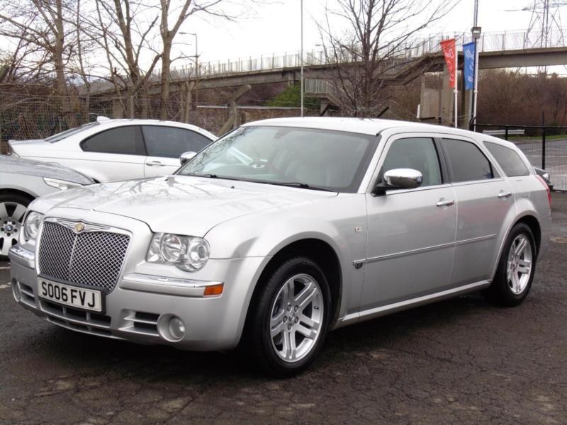 Chrysler 300c 3 0crd V6 Auto Silver Estate 63 000 Miles