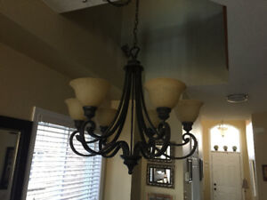 Light fixture for dining room