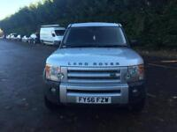 2006 Land Rover Discovery 3 2.7 TDV6 S diesel manual