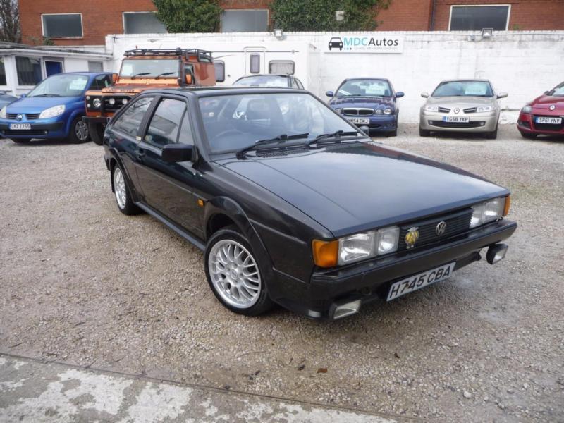 1990 (H) Volkswagen Scirocco 1.8 GT II, 2 OWNERS, 12M MOT, ORIGINAL WHEELS