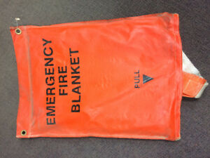 Emergency Fire Blankets!