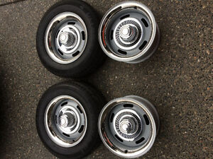6 Stud Chevy Rally Wheels