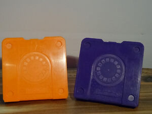 Two View-master 3D viewers, 19 reels and 2 cases for the reels Cornwall Ontario image 3