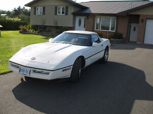 Toys Must Go - Reduced 1987 Convertible Corvette
