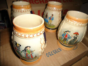 SET of Vintage Steins       COLLECTABLE London Ontario image 1