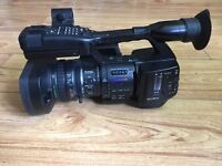 Sony PMW-EX1R a professional video camera with extras