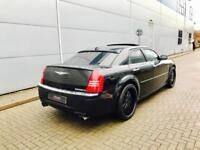 2005 55 reg Chrysler 300C 5.7 V8 Hemi auto + Black + STARTECH Extras + Huge spec