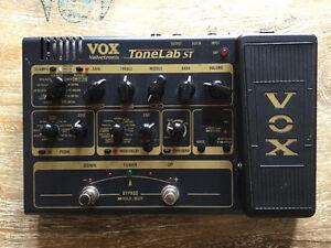 Vox tonelab ST Avec un tube à l'intérieure!!!