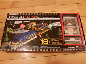 Power city battery operated train set
