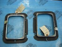 2 NOS  Ford headlight trim rings for A 1984 Bronco II