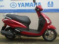 2017 YAMAHA DELIGHT 125CC, LAVA RED, BRAND NEW! ON THE ROAD