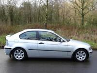 2003 03 BMW 320td SE Compact 3 Door Hatchback..SERVICE HISTORY !!