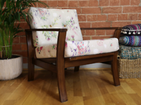 Vintage Retro Armchair (2 pieces)