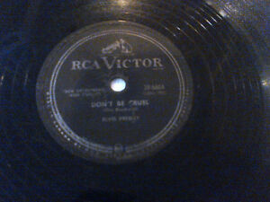ELVIS PRESLEY LOST RECORDS DJ CLEAROUT RCACANADA78RPM  HOUND DOG