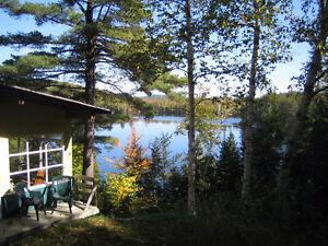 Chalet à louer Lac Clair Chertsey Lanaudière