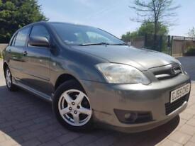 New Shape* 2005 Toyota Corolla 1.6 L Automatic 5 Doors