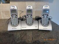 Panasonic Digital Cordless Phone and Answering set