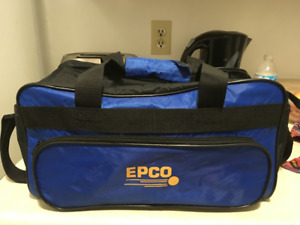 EPCO bowling bag - 5 PIN - black and blue