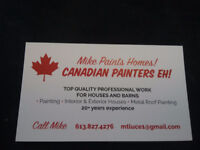 CANADIAN PAINTERS EH !