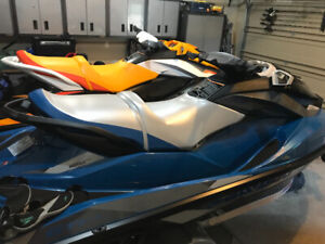 2  2018 Seadoo GTI SE 130 with trailer