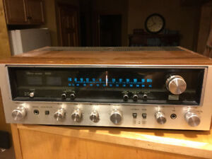 Sansui Stereo System 6060 Receiver Amp SP 2000 Speakers 1970's