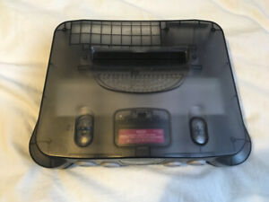 Nintendo 64 smoke black