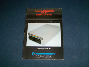 COMMODORE 1541 DISK DRIVE-USER'S GUIDE-1982-COMMODORE 64