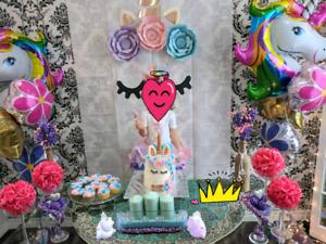 Unicorn party decorations