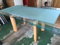 John Lewis extendable dining table