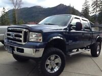 2006 Ford f350 Super Duty Lariat Pickup Truck mint with lift