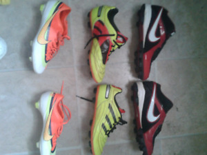 GET YOUR KLEETS ON  (3PAIRS) NIKE ADIDAS NIKE