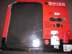 Swiss Laptop/Tablet Travel Set - Sleeve + Charging Set,New - $17
