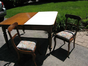Beautiful Table and Chair Set Kitchener / Waterloo Kitchener Area image 1