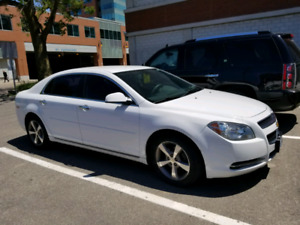 2012 Chevrolet Malibu 4 Door Sedan LT