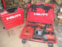 Drill  Hilti percussion impact