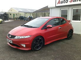 2008 HONDA CIVIC TYPE-R GT I-VETEC 2L ONLY 80,329 MILES, FULL SERVICE HISTORY