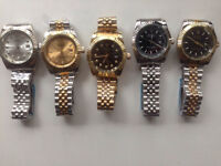 NEW FINAL 2 MENS ROLEX WATCHES GENUINE QUALITY