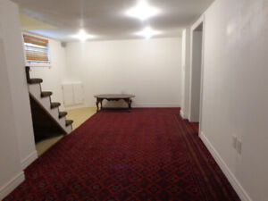 FOR RENT 1 Bedroom basement apartment Kennedy Sheppard