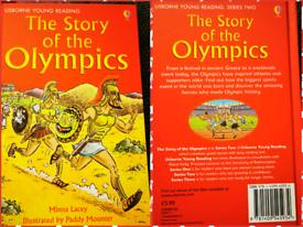 The story of the Olympics hardback