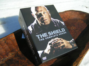 The Shield DVD set, complete series