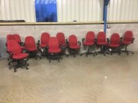 Quantity of matching swivel chairs