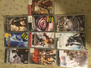 Selling used Nintendo DS and PSP (Playstation Portable) games