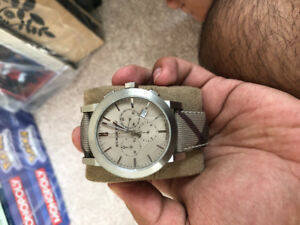 Authentic mint condition Burberry watch
