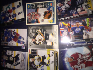 Hockey cards (30 of your favourite team)