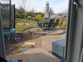 6 seater Garden Furniture table and chairs