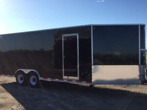 2018 CJay 8x20 Enclosed - Black - 4115