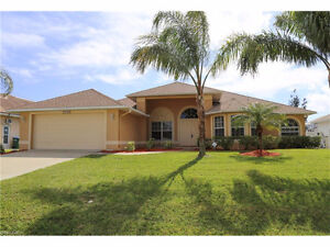 *House in Cape Coral, Florida,USA*Gulf Access POOL Home*Turnkey*