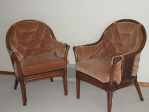 Two small arm chairs for sale