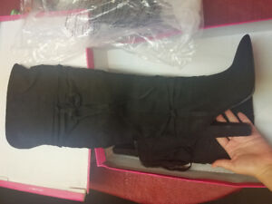 THIGH HIGH BOOTS, OVER THE KNEE BOOTS, WOMEN BOOTS - NEVER WORN!