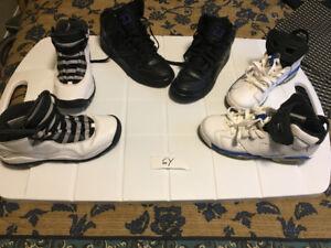 EUC Youth Shoes - Jordans / Nikes - Size 1Y - 6Y - $35
